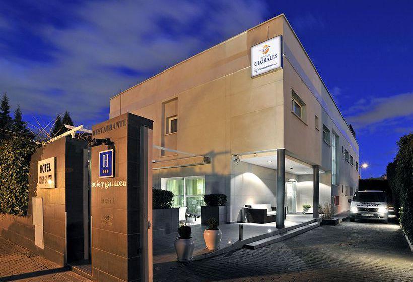 Aussenbereich Hotel Globales Acis & Galatea Madrid