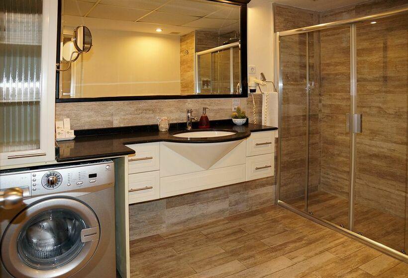 Badezimmer Hotel The Residence Gayrettepe Istanbul