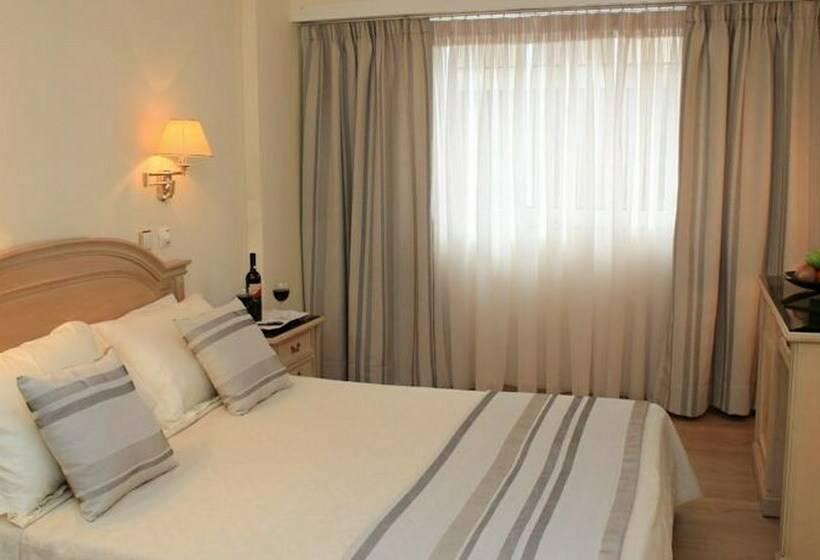 Habitación Hotel Hellinis Atenas