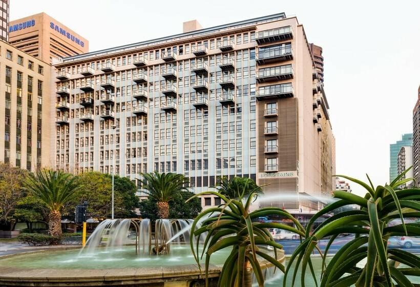 Aussenbereich Hotel Fountains Kapstadt