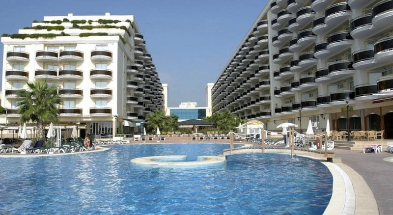 Zwembad Hotel Peñíscola Plaza Suites Penyiscola