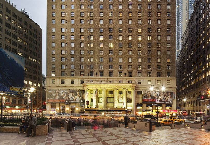 New York's Hotel Pennsylvania ニューヨーク