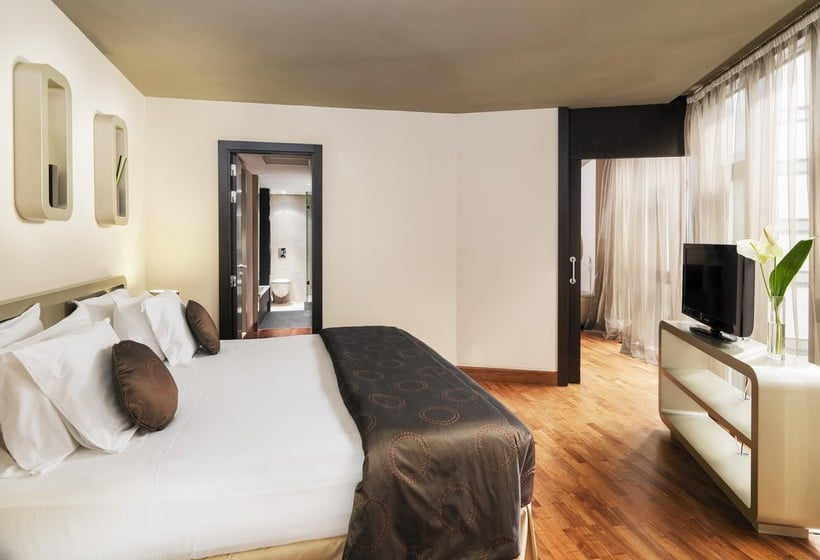 اتاق هتل H10 Casanova بارسلون