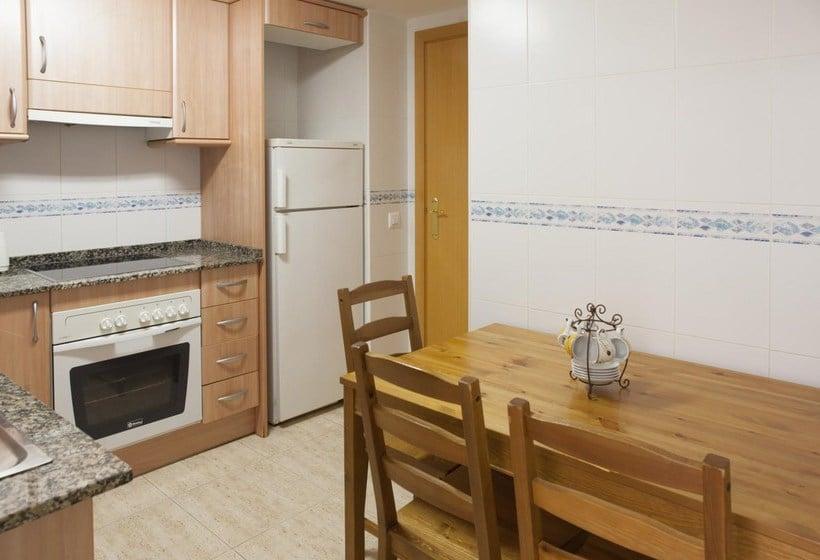 Cozinha Apartamentos Ibersol Siesta Dorada Salou