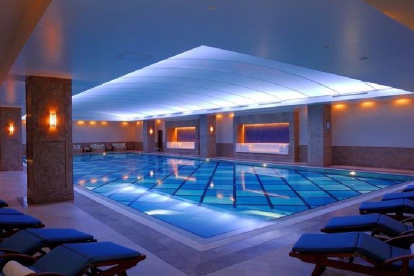 Swimming pool Hotel Swissôtel Ankara