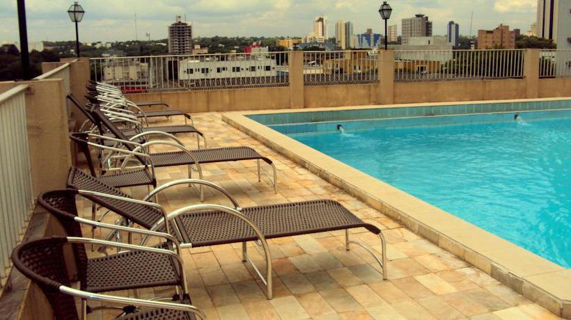 Swimming pool Hotel Mirante Foz do Iguacu