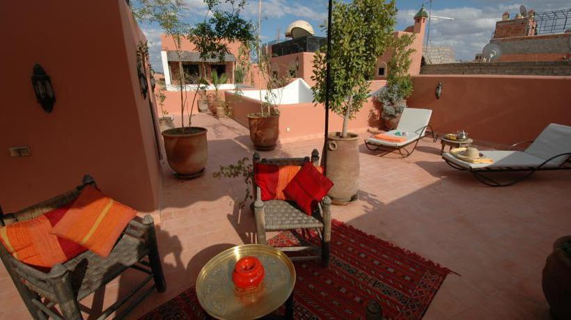 Terrasse Riad Itrane Marrakech