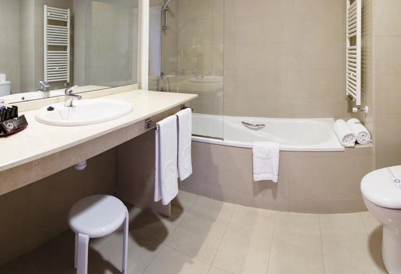 Cuarto de baño Hotel La Estación Benidorm