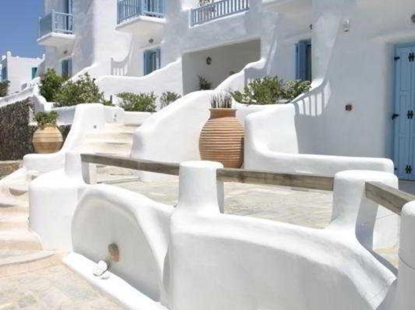 Aussenbereich Harmony Boutique Hotel Mykonos