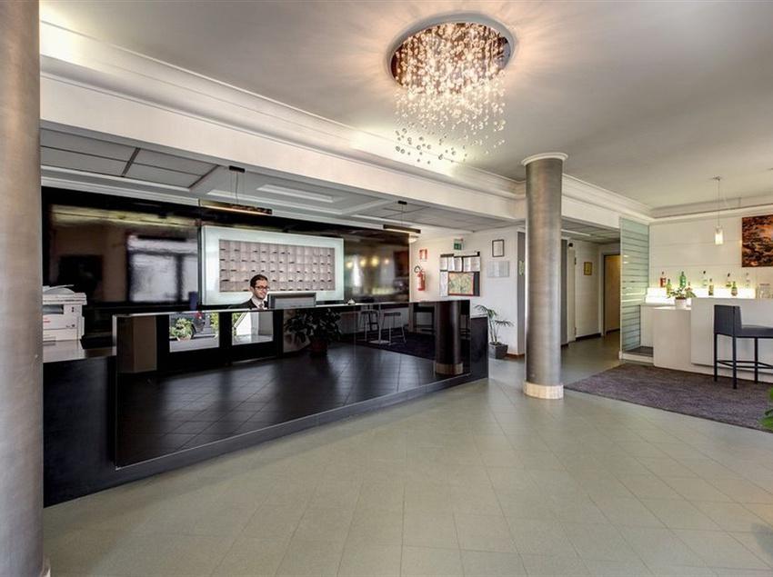 Reception Alba Hotel Torre Maura Roma