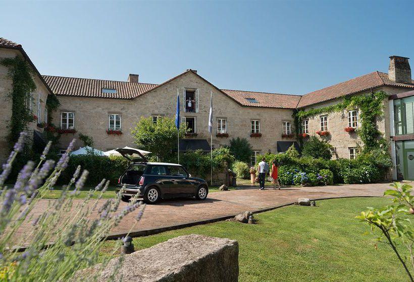Esterno Hotel A Quinta Da Auga Santiago di Compostela