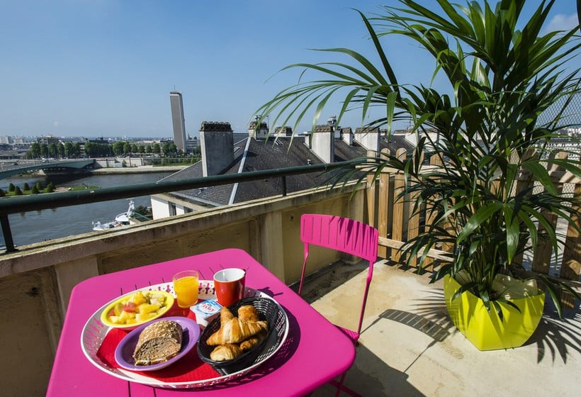 Terrasse Hotel Ibis Styles Rouen Centre Cathedrale