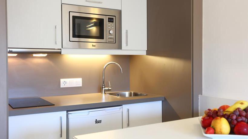 Küche Apartamentos Jade S'Arenal
