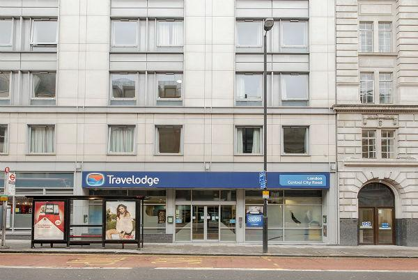 호텔 Travelodge London Central City Road 런던