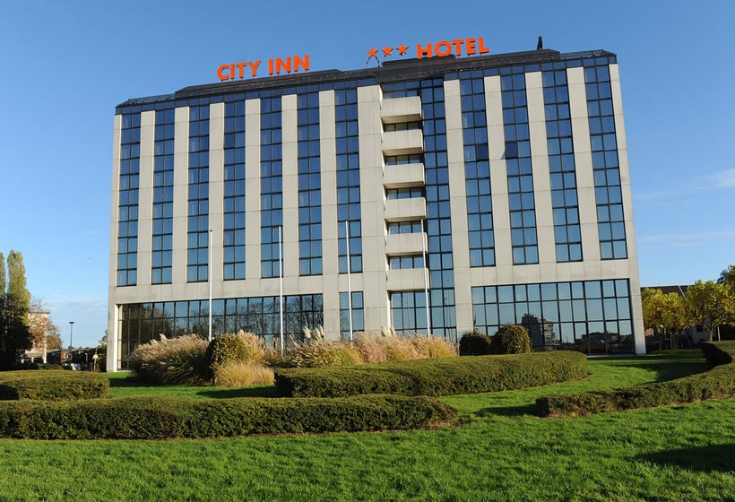 Exterior Hotel City Inn Luxe Amberes