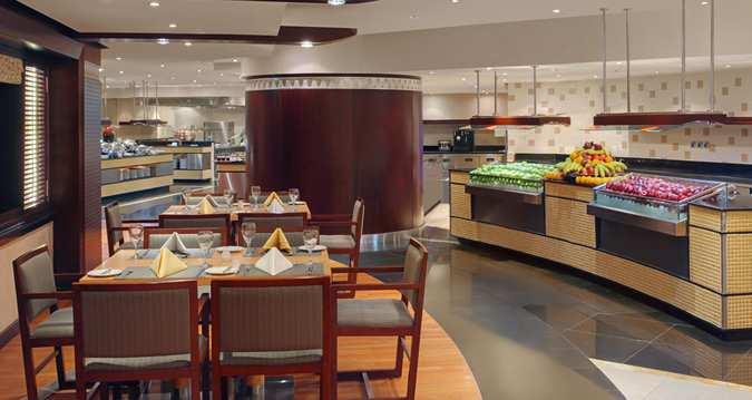 مطعم فندق Makkah Hilton مكة