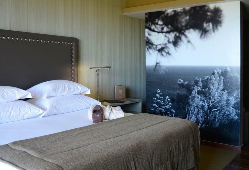 غرفة فندق Salgados Palace البوفيرا