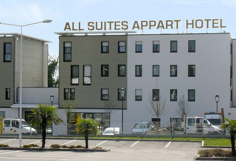 All suites appart 39 h tel pau em pau desde 20 destinia for Appart hotel 45