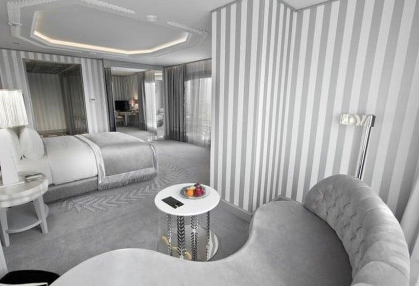 اتاق هتل Wyndham Grand Istanbul Kalamis Marina استانبول