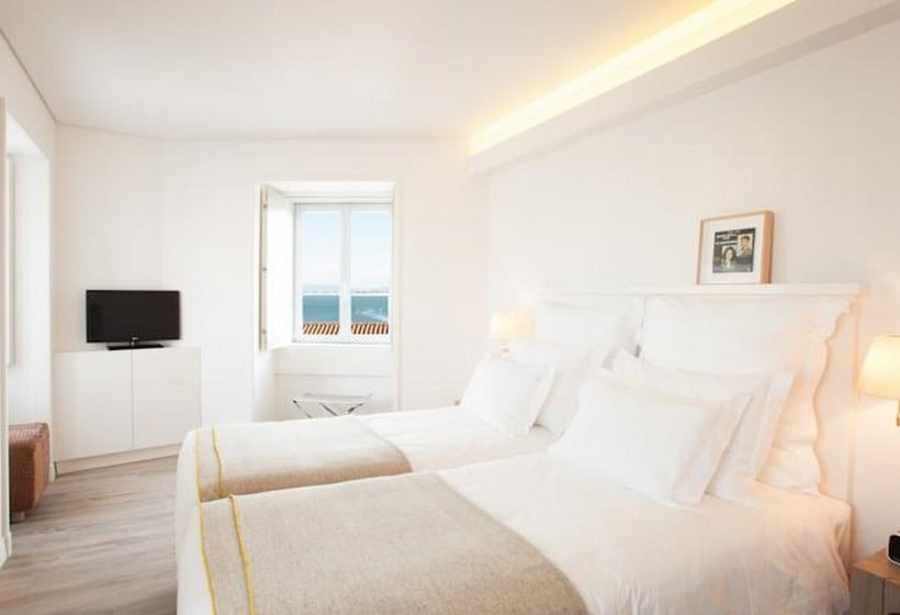 Zimmer Hotel Memmo Alfama Lissabon