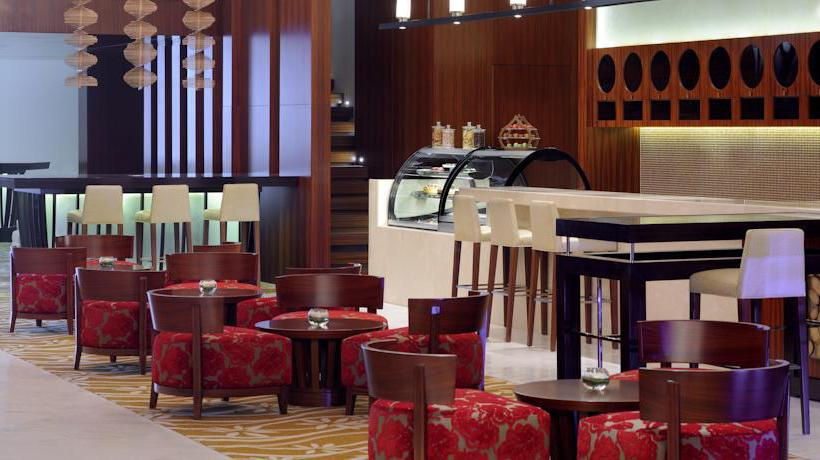 Cafétéria Marriott Hotel Al Jaddaf Dubaï