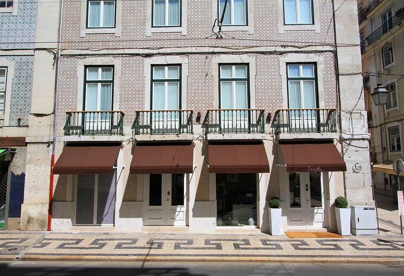 Hotel Lisboa Prata Boutique Lisbona