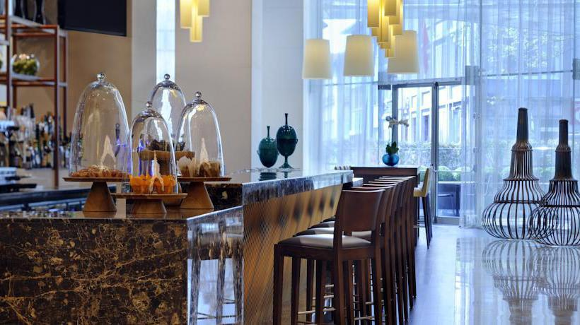 Cafeteria Istanbul Marriott Hotel Sisli