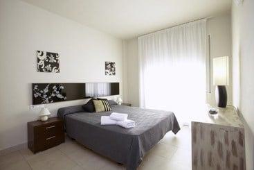 Zimmer Apartamentos Ibersol Spa Aqquaria Salou