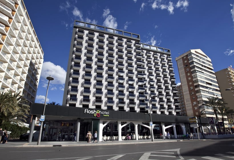 Aussenbereich Hotel Flash - Adults Only Benidorm