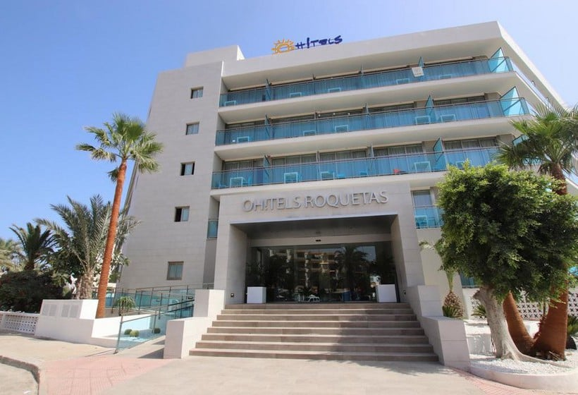 Outside Hotel Ohtels Roquetas Roquetas de Mar
