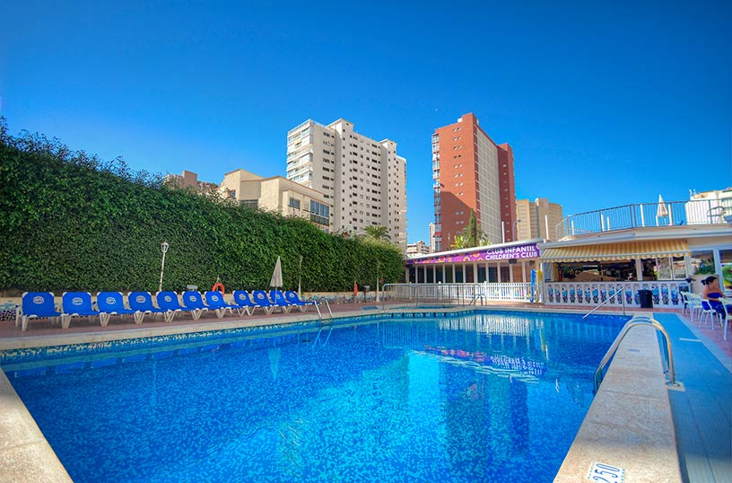 Schwimmbad Hotel Servigroup Nereo Benidorm