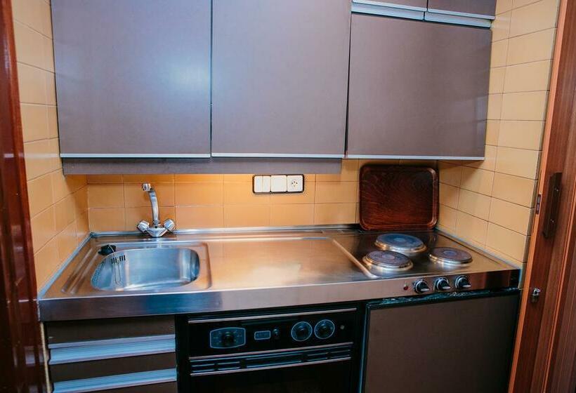 Cuisine Apartamentos Augusta Barcelone