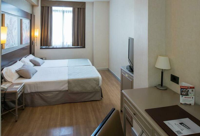 Room Hotel Catalonia Mikado Barcelona