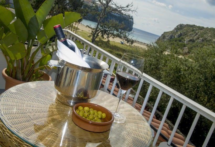 Terrace Hotel IBB Paradis Blau Cala'n Porter