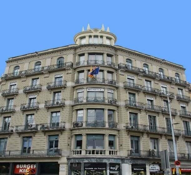 Hotel medium monegal a barcellona a partire da 40 destinia for Barcellona albergo economico