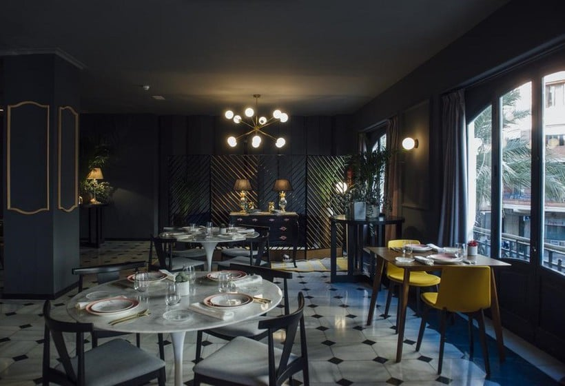 Restaurant Hotel One Shot Palacio Reina Victoria 04 Valencia