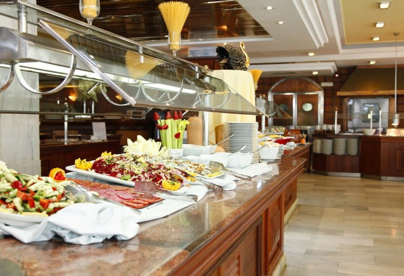 레스토랑 호텔 Roc Boccaccio Port d'Alcudia