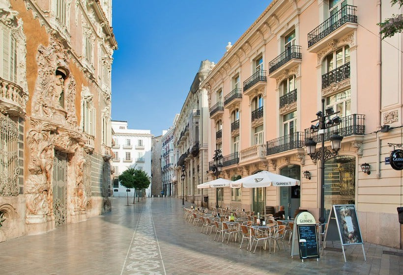 Extérieur SH Inglés Boutique Hotel Valencia