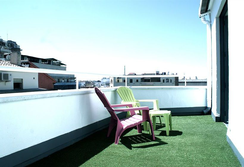 Terrace Hotel Anaco Madrid