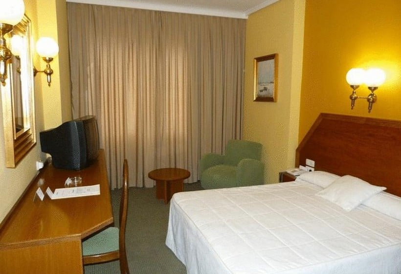 Quarto Hotel Gran Atlanta Madrid
