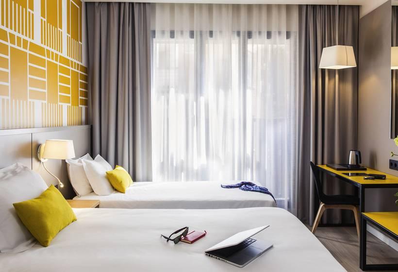 Habitación Hotel Mercure Madrid Plaza de España