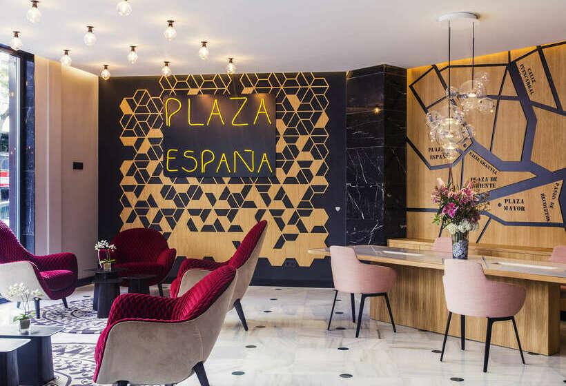 Zonas comunes Hotel Mercure Madrid Plaza de España