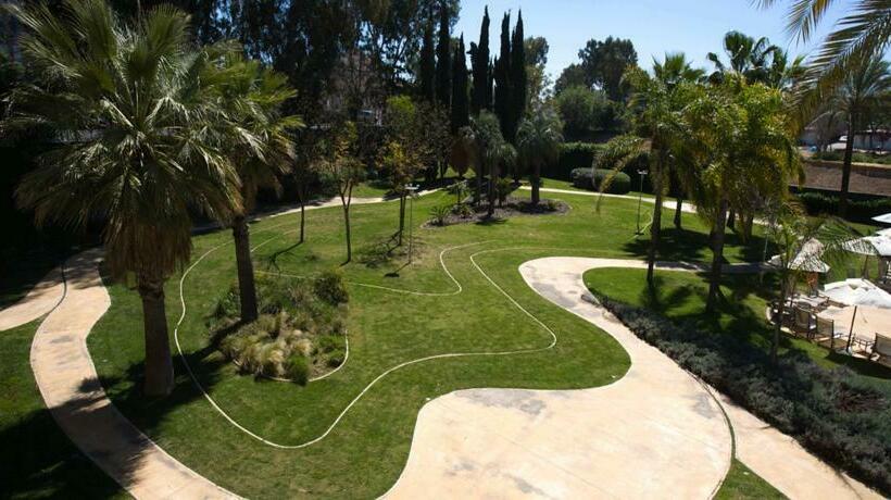 Outside Hotel Silken Al-Andalus Palace Seville