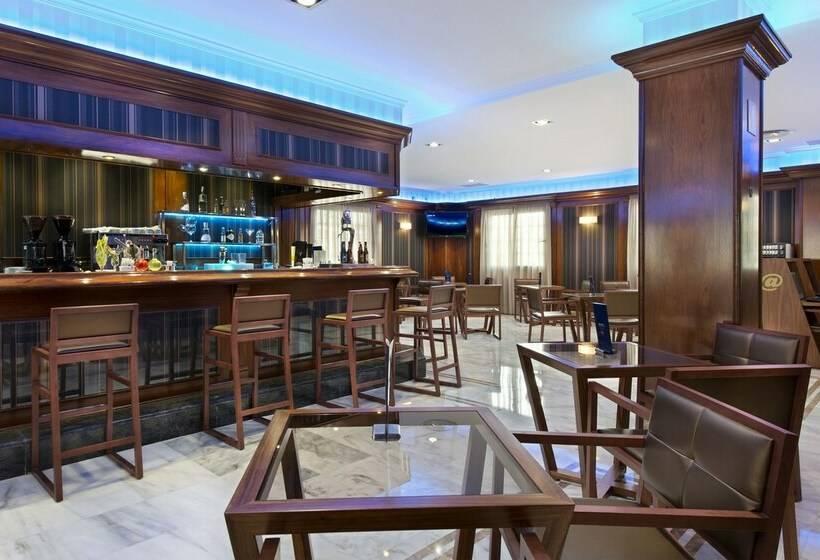 カフェ ホテル Elba Motril Beach & Business モトリル