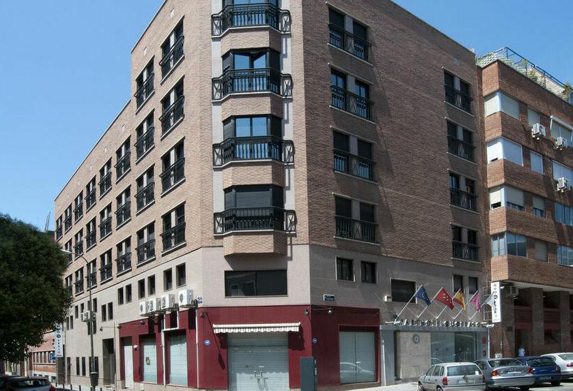 Extérieur Aparthotel Quo Eraso Madrid