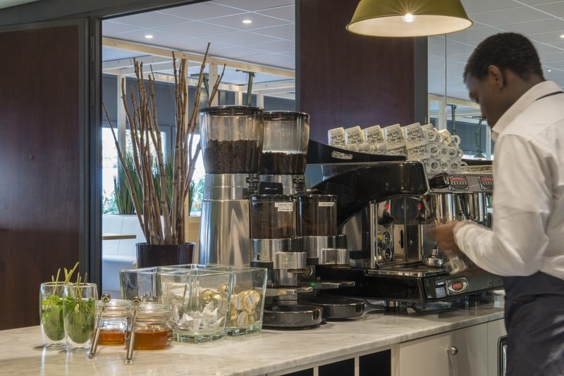 Cafeteria Hotel Best Western Plus Airport Rotterdam