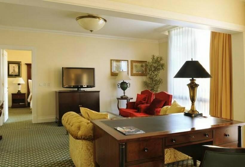 방 호텔 Lisbon Marriott 리스본