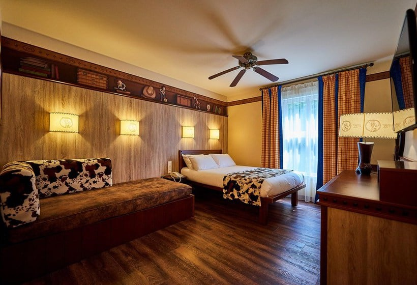 Eurodisney Paris Hotel Cheyenne
