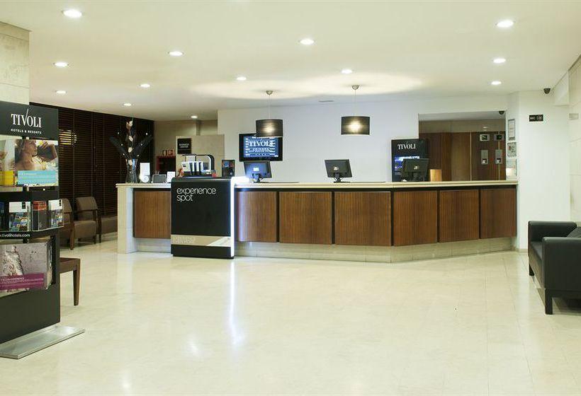 Réception Hôtel Tivoli Coimbra