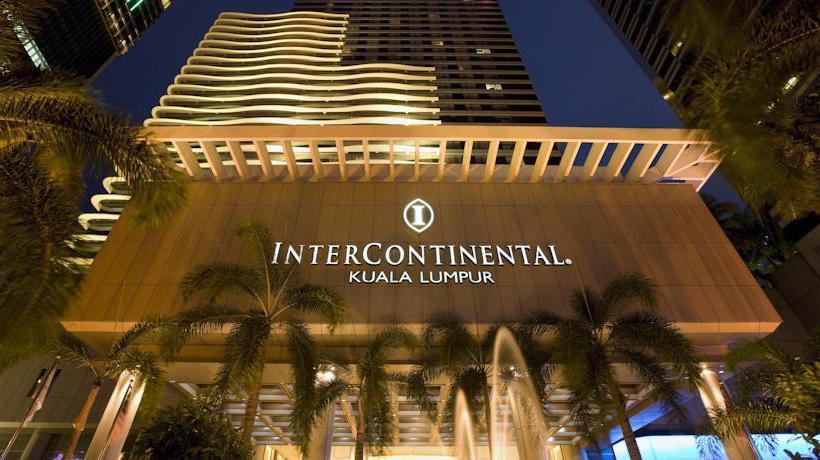 Aussenbereich Hotel InterContinental Kuala Lumpur